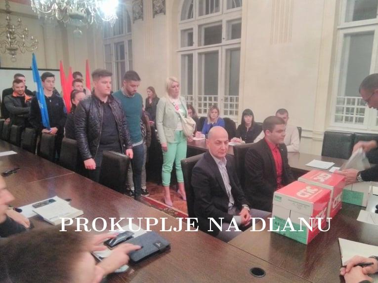 СОЦИЈАЛИСТИЧКА ПАРТИЈА СРБИЈЕ И ЈЕДИНСТВЕНА СРБИЈА ПРЕДАЛИ ЛИСТУ КАНДИДАТЕ ЗА ОДБОРНИКЕ ЗА ЛОКАЛНЕ ИЗБОРЕ