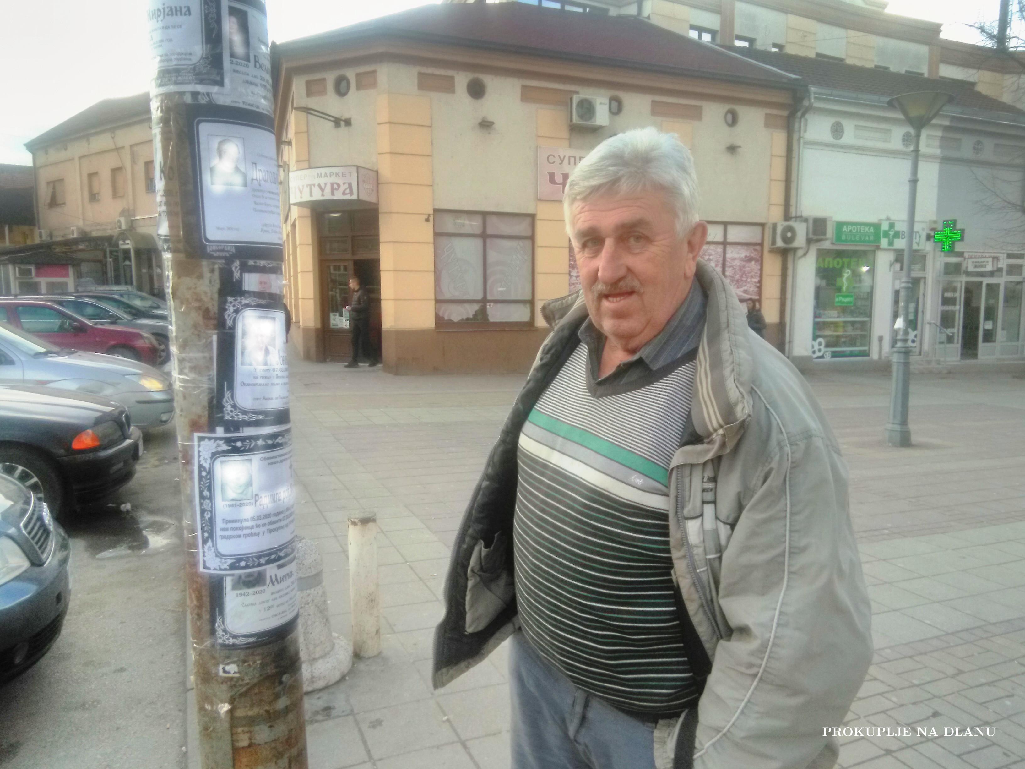 ДРАГОЉУБ МИЈАЛКОВИЋ ПИВАЦ: БАНДЕРА ЈЕ ПЕНЗИОНЕРСКИ ФЕЈСБУК