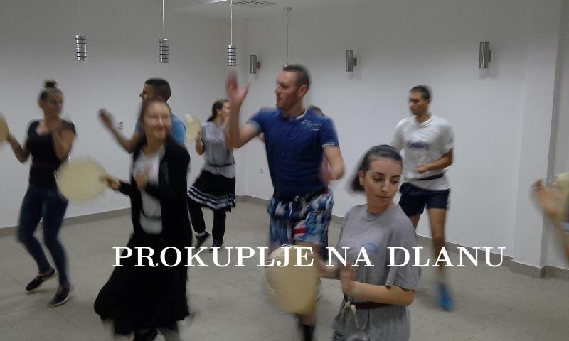"""""""ABRAŠEVIĆ"""" UVEŽBAVA NOVU KOREOGRAFJU"""