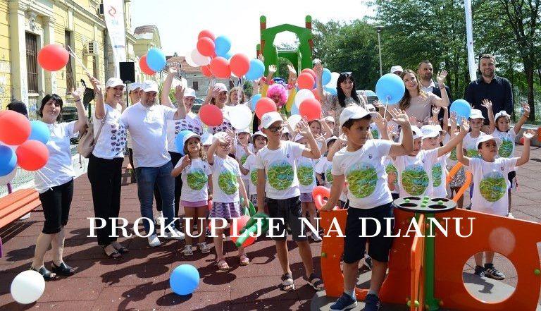 Отворено ново дечије игралиште у Прокупљу