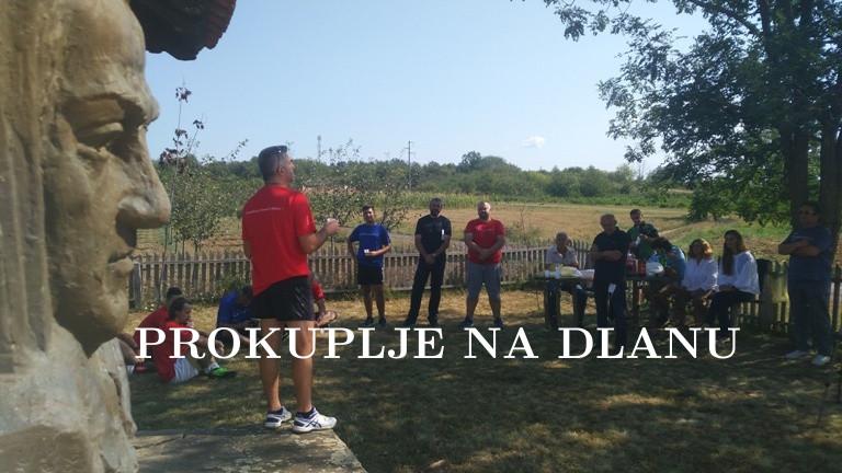 Бициклом од Прокупља до Драинчеве родне куће у Трбуњу