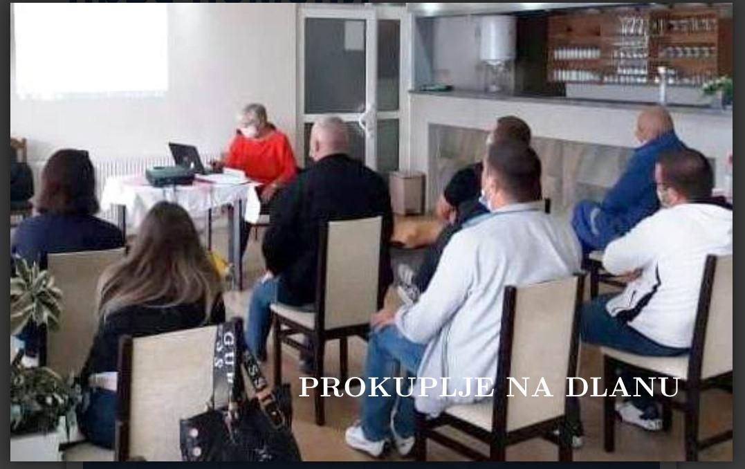 У ЦРВЕНОМ КРСТУ ЗАВРШЕНА ОБУКА ПРУЖАЊА ПРВЕ ПОМОЋИ
