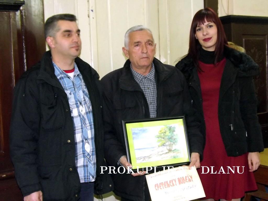 """MILIVOJE KRSTIĆ DOBITNIK POVELJE """"SVOJNOVO"""""""