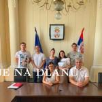 Град Прокупљe приредиo пријем за студенте који ће студирати у Русији