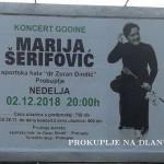 ОТКАЗАН КОНЦЕРТ МАРИЈЕ ШЕРИФОВИЋ