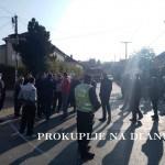 ОДРЖАН ШТРАЈК УПОЗОРЕЊА У НАСЕЉУ ГАРИЋ