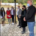 """Представници Града и ђаци О.Ш. """"Свети Сава"""" у посети Дневном боравку """"Сунце"""""""